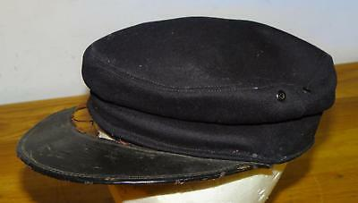 Late 1800's- Early 1900's NAVY SOLDIERS CAP ~US NAVAL CLOTHING FACTORY BERG BROs