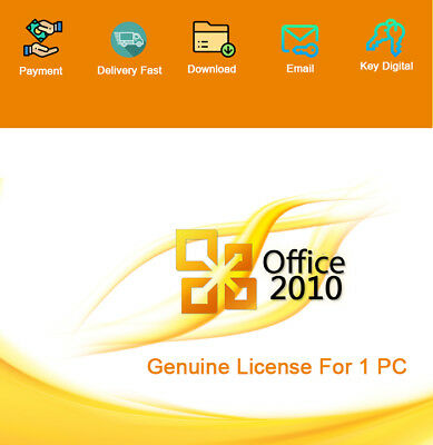 Office 2010 Professional Plus 32-64Bit License Genuine