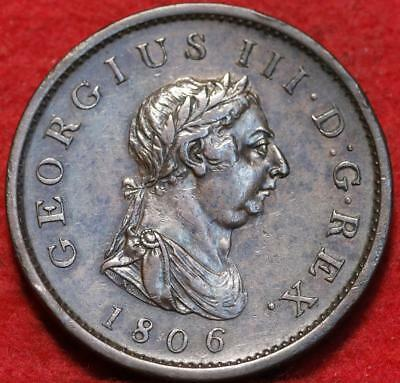 1806 Great Britain 1 Penny Foreign Coin