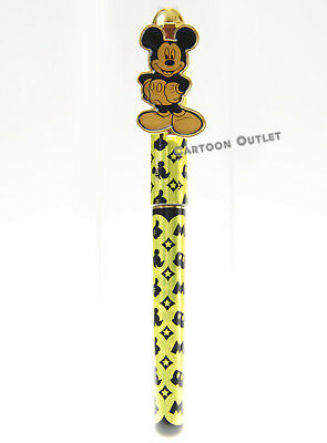 1 Disney Mickey Mouse Pen  Ball Point Black Ink Gold Birthday Gift
