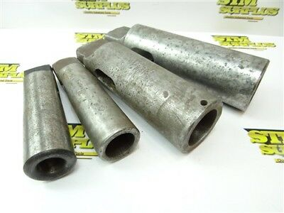 Heavy Duty 4Pc Lot Tap Sleeves 3-5 To 5-6