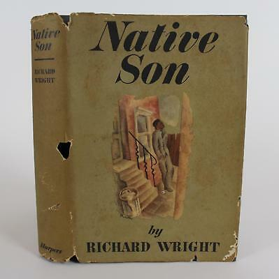 2 Antique First Edition Richard Wright Native Son & Black Boy Hardcover Books
