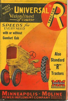Minneapolis Moline Universal R Tractor Brochure