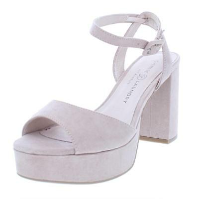 Chinese Laundry Womens Trixi Pink Open-Toe Heels Shoes 6 Medium (B,M) BHFO 4798