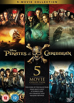 Pirates Of The Caribbean 5 Movie Collect DVD NEW