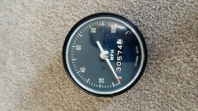Honda CB350K (may fit CL350 CB250?)early 70's Speedometer Clock Gauge Instrument