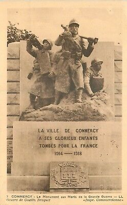 Cp Commercy Monument Aux Morts