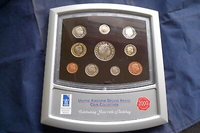 2000 UK Proof Coin Set
