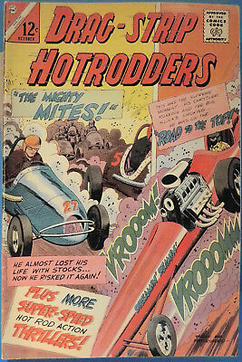 Drag-Strip Hotrodders No. 6, Charlton, October 1965, Silver Age Dragstrip Comic