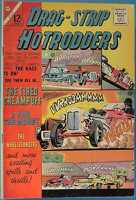 Drag-Strip Hotrodders No. 5, Charlton, August 1965, Silver Age Comic