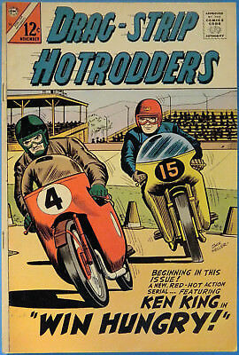 Drag-Strip Hotrodders No. 12, Charlton November 1966, Silver Age Dragstrip Comic