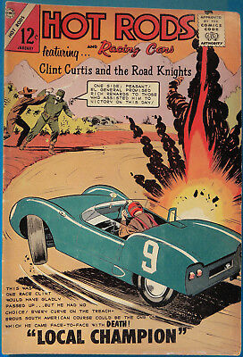Hot Rods and Racing Cars No 67 Charlton Jan. 1964, Jack Keller, Silver Age Comic