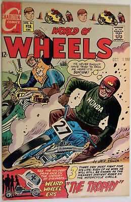 World of Wheels, V. 1 No. 24, Charlton, Feb 1969, Jack Keller, Nicholas Alascia
