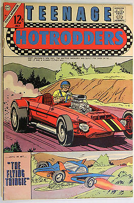 Teenage Hotrodders, V1 No 24, Charlton, Aug. 1967, Jack Keller, Silver Age Comic