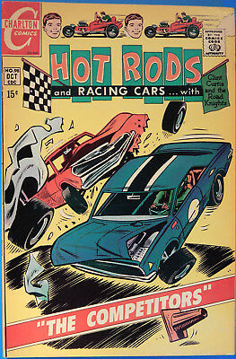 Hot Rods and Racing Cars No 98 Charlton Oct. 1969, Jack Keller, Silver Age Comic