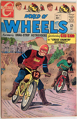 World of Wheels, V. 1 No. 17, Charlton, Oct. 1967, Jack Keller, Nicholas Alascia