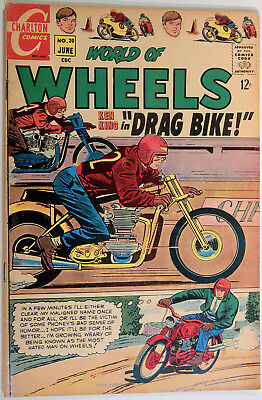 World of Wheels, V. 1 No. 20, Charlton, June 1968, Jack Keller, Nicholas & Bache