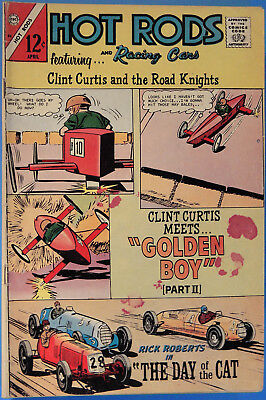 Hot Rods and Racing Cars No 84 Charlton Apr. 1967, Jack Keller, Silver Age Comic