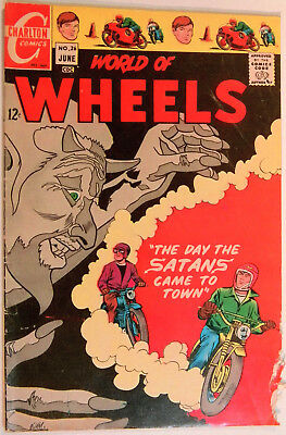 World of Wheels 26 Charlton 6/ 1969 Nicholas Alascia Day The Satans Came to Town