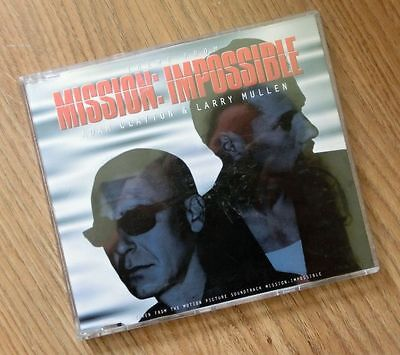 CD-Single Adam Clayton & Larry Mullen (U2) - Theme from Mission: Impossible