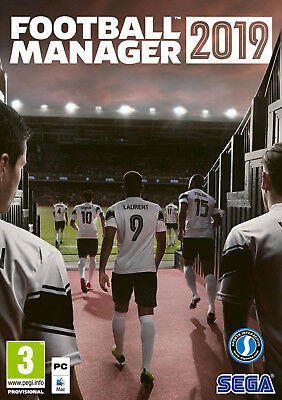 Football Manager 2019 Fm19 Pc Mac Computer [ Versione Digital Key Steam ]