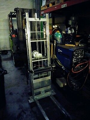 escalera stair cat forklift dolly furniture and appliance dolly