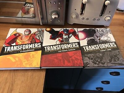 Transformers The Definitive G1 Collection Books 36, 16 & 6...