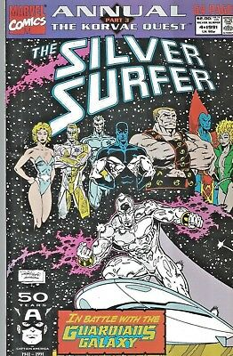 Silver Surfer Annual #4  Guardians Of The Galaxy   Giant-Size  1991  Nice!!!