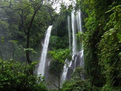 NEW Mountain Waterfall in Indonesia PHOTO IMAGES #0231