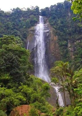 NEW Mountain Waterfall in Indonesia PHOTO IMAGES #021