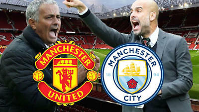 Manchester United vs. Manchester City ... DERBY TIME !!!