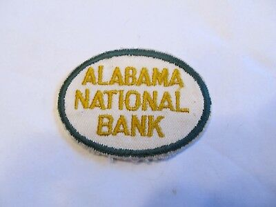 Alabama National Bank Security Patch Defunct Cheese Cloth