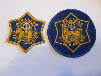 Arkansa State Police Patch Set Obsolete L Cheese Cloth Diff Seals & Academy