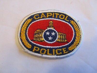 Tennessee State Capitol Police Patch