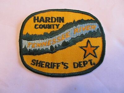 Tennessee Hardin Co Sheriff Patch
