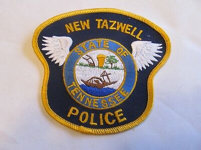 Tennessee New Tazwell Police Patch