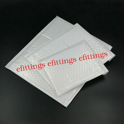 Wholesale 10-100Pcs Poly Bubble Mailers Padded Envelopes Shipping Bags Self Seal