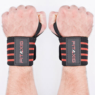 FITAXIS Wrist Wraps Bodybuilding Weight Lifting Bandage Hand fitness Gym Straps