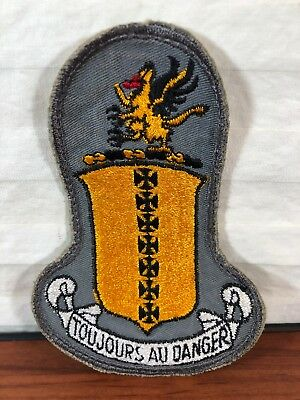 Vintage Rare Authentic WWII U.S. Army Air Force 17th Bomb Group Snow Back Patch