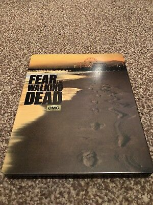 Fear The Walking Dead Season 1  (Import Staffel Uncut) (Blu Ray Steelbook)