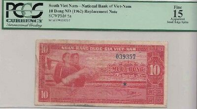 Star note from South Vietnam-Pre 1975 note = 10$--Rare