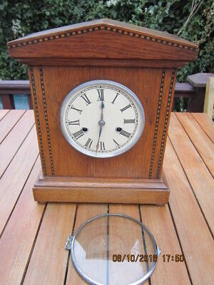 Antique Wood Bracket Clock