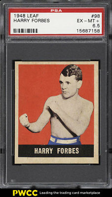 1948 Leaf Boxing Harry Forbes #98 PSA 6.5 EXMT+ (PWCC)