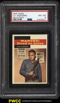 1958 Topps T.V. Westerns Cello Pack PSA 8 NM-MT (PWCC)