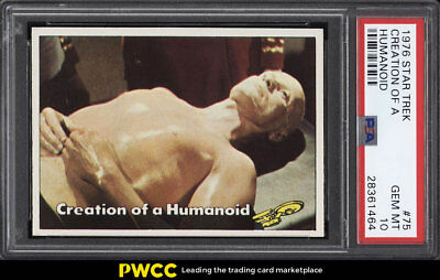 1976 Topps Star Trek Creation Of A Humanoid #75 PSA 10 GEM MINT (PWCC)