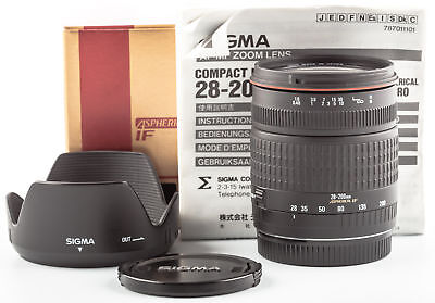 Sigma AF 3,5-5,6/28-200mm Macro Aspherical IF Compact Hyperzoom für Canon EF