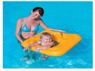 "Bestway Swimming Seat Ring 27"" Kids Inflatable Baby Swim Safe Support Step A"
