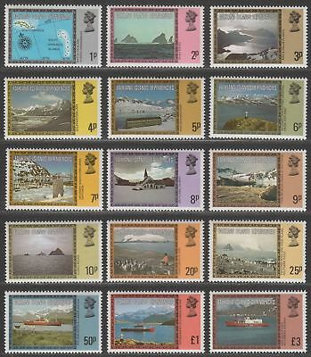 Falkland Islands Dependencies 1980 QEII Views Set UM Mint SG74A-88A