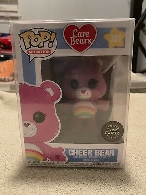Cheer Bear CHASE Care Bears Funko POP! Limited Edition Glow In The Dark Vinyl