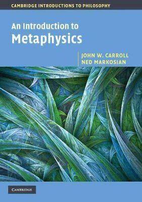 Cambridge Introductions to Philosophy: An Introduction to Metap... 9780521533683